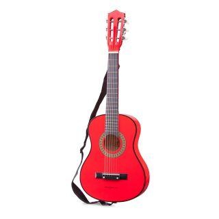 Chitara  pentru copii rosie, profesionala