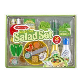 Set de joaca din lemn Salate delicioase Melissa & Doug
