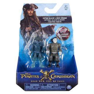 Set 2 figurine Piratii din Caraibe Spin Master