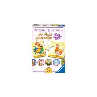Puzzle pentru copii Ravensburger 9 x 2 piese