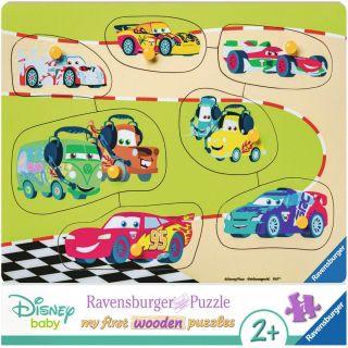 Puzzle din lemn Disney Cars Ravensburger 7 piese