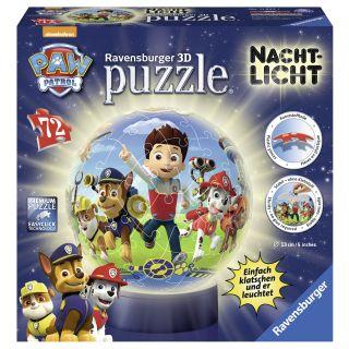 Puzzle 3D Patrula de noapte a catelusilor Ravensburger
