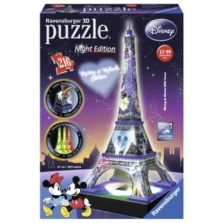 Puzzle 3D Turnul Eiffel 216 piese Ravensburger