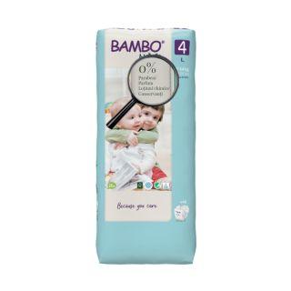 Bambo Nature Eco-Friendly Scutece Maxi 7-14 kg (Marimea 4) 48 buc.