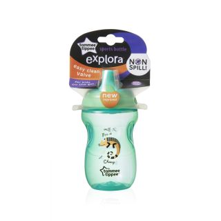 Explora Cana Sports, Tommee Tippee, 300ml ,Cameleon Verde
