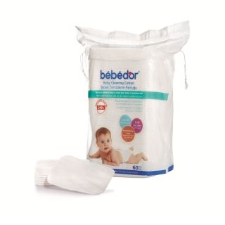 Dischete de curățare din bumbac Bebedor