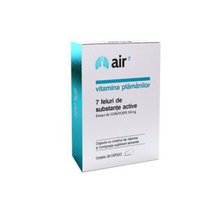 Air7 Vitamina Plamanilor 30 capsule