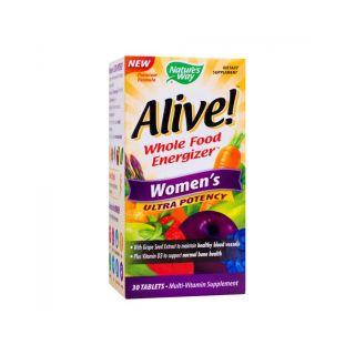 Alive Women's Ultra 30 tablete Potency Secom