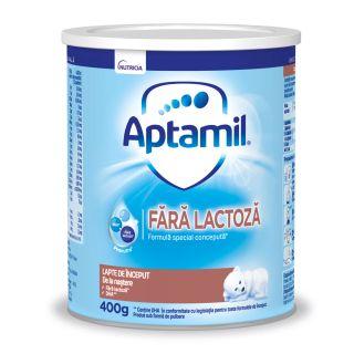 Aptamil Fara Lactoza - Lapte praf pentru bebelusi 400gr