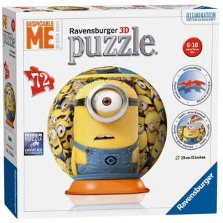 Puzzle 3D Minions, 72 piese Ravensburger
