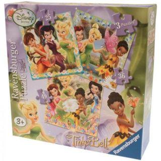 Puzzle Zanele Disney 3 buc, 25/36/49 piese Ravensburger