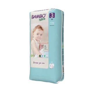Bambo Nature Scutece Midi 4-8 kg (Marimea 3)