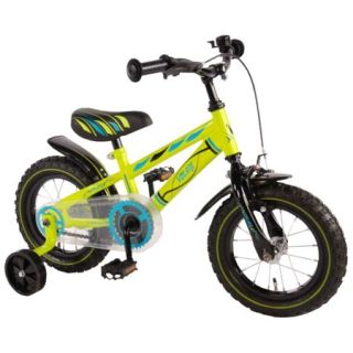 Bicicleta pentru baieti 12 inch, cu roti ajutatoare, Volare Yipeeh VOL71234