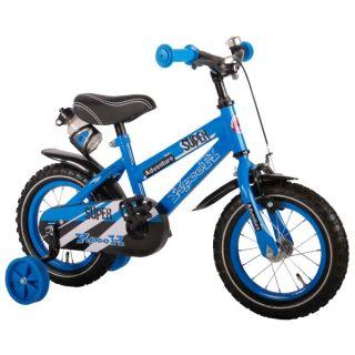 Bicicleta pentru baieti 12 inch cu roti ajutatoare Volare Yipeeh Super VOL71232