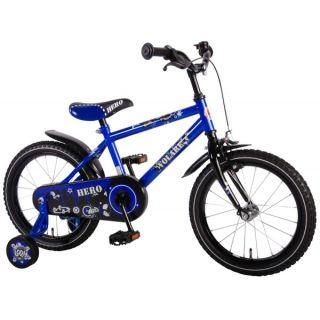 Bicicleta pentru baieti 16 inch cu roti ajutatoare Volare Hero VOL61609