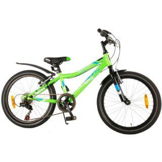 Bicicleta verde pentru baieti 20 inch cu 6 viteze Volare Blade VOL72020-K