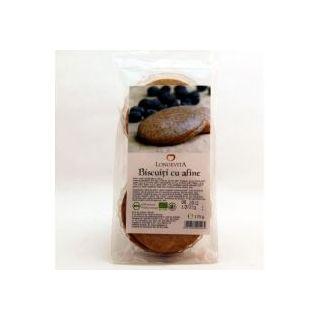 Longevita Biscuiti Bio cu crema de afine 175 g