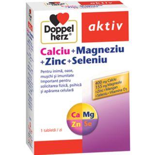 Calciu+Magneziu+Zinc+Seleniu Doppelherz aktiv
