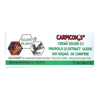 Carpicon S Supozitoare 1g Elzin Plant