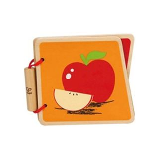 Hape - Baby Book, Fruit - Carticica cu fructe