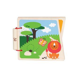 "Hape - Book At-The-Zoo - Cartea ""La Zoo"""