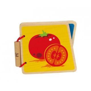 Hape - Baby Book, Vegetables - Carticica cu legume