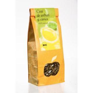 Ceai ierburi si citrice BIO