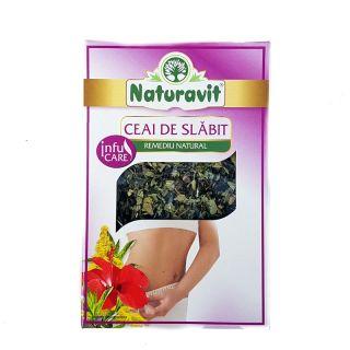 Ceai pentru slabit Naturavit 50g