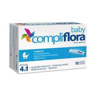 Compliflora Baby 4 in 1 sinbiotice 10 plicuri