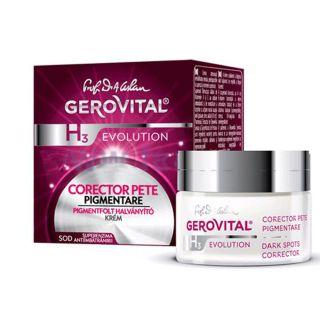 Gerovital H3 Evolution corector pete pigmentare