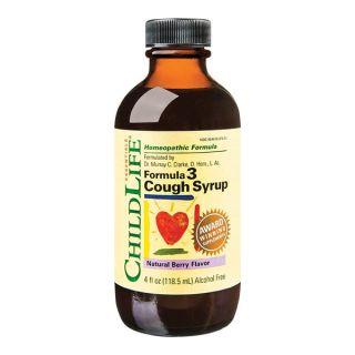 Cough Syrup 118.5 ml ChildLife Essentials Secom