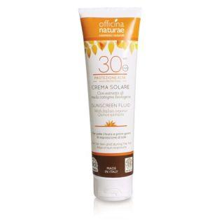 Crema bio protectie solara SPF 30 Officina Naturae 125 ml