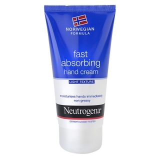 Crema pentru maini cu absorbtie rapida Neutrogena 75 ml