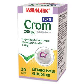 Crom forte 30 tablete Walmark