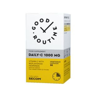Daily-C 1000 mg 30 capsule Good Routine Secom