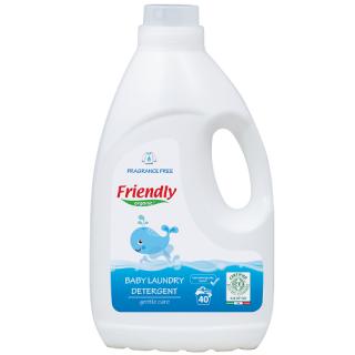 Detergent Rufe fara miros Friendly Organic 40 spalari 2000 ml
