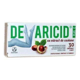 Devaricid plus C cu extract de castane Biofarm