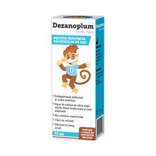 Solutie impotriva paduchilor Dezanoplum 75 ml Zdrovit
