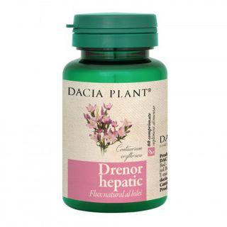 Drenor Hepatic x 60 cpr Dacia Plant