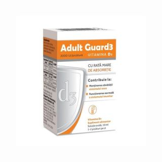 Evital Adult Guard3 2000 UI Vitamina D3 10 ml