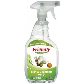 Friendly Spray Organic pentru Spălarea Fructelor & Legumelor