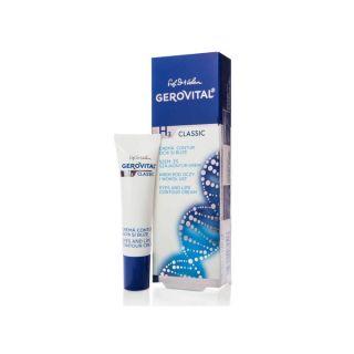 Gerovital H3 Classic Crema contur ochi si buze 15 ml