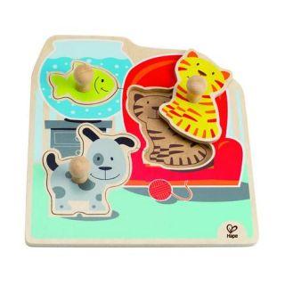 Hape – Puzzle animale de companie