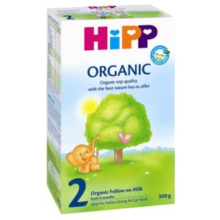 Hipp 2 Organic Lapte de continuare, de la 6 luni 300 g
