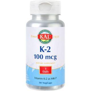Secom Vitamin K-2 100mcg 30 capsule