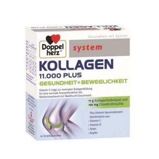 Doppelherz System Kollagen 11000 Plus 10 fiole