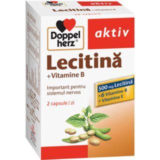 Lecitina cu Vitamina B si E Doppelherz aktiv