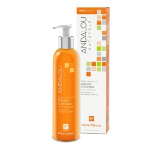 Secom Andalou Naturals Meyer Lemon +C Creamy Cleanser 178ml