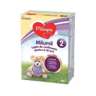 Milumil 2 Milupa Lapte praf pentru bebelusi 600 g