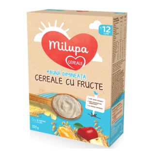Milupa Cereale cu Fructe Buna Dimineata 12 luni+ 250 g